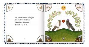 """aus: """"Die Vogelhochzeit"""", Antje Vogel, Coppenrath Verlag"""