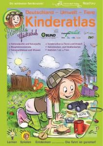 Petronella Glückschuh - Kinderatlas mit Ausflugszielen, die etwas mit Umwelt und Tieren zu tun haben
