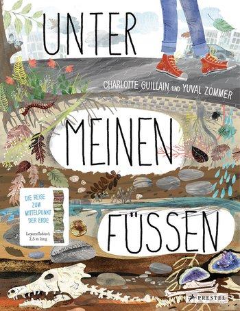 Bilderbuch zum Ausklappen: Unter meinen Füßen, ausgezeichnet mit dem Leipziger Lesekompass