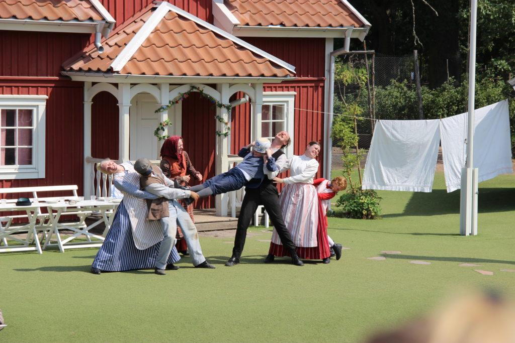 Michel aus Lönneberga in Astrid Lindgrens Welt