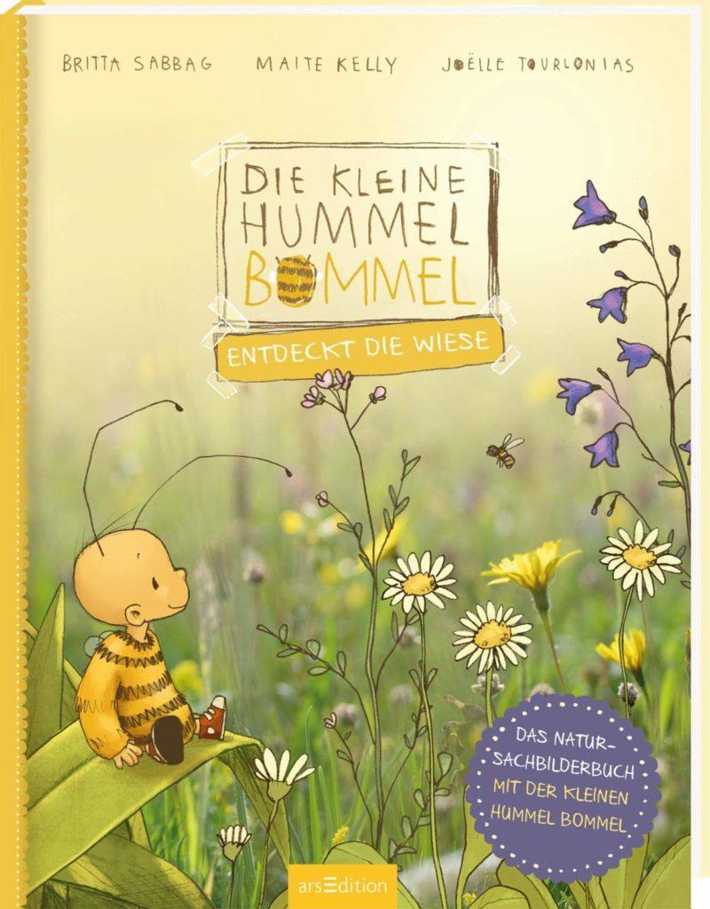 Bilderbuch von der kleinen Hummel Bommel: Die kleine Hummel Bommel entdeckt die Wiese