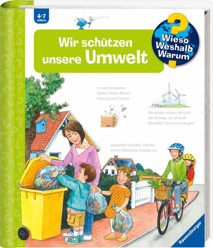 Kinder-Sachbuch: Wir schützen unsere Umwelt aus der Wieso? Weshalb? Warum? Reihe von Ravensburger