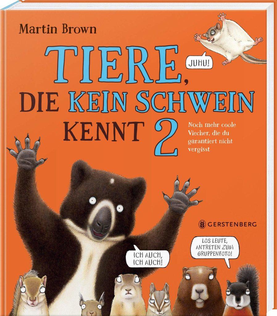 """Sachbuch und Kinderbuch: """"Tiere, die kein Schwein kennt 2"""""""