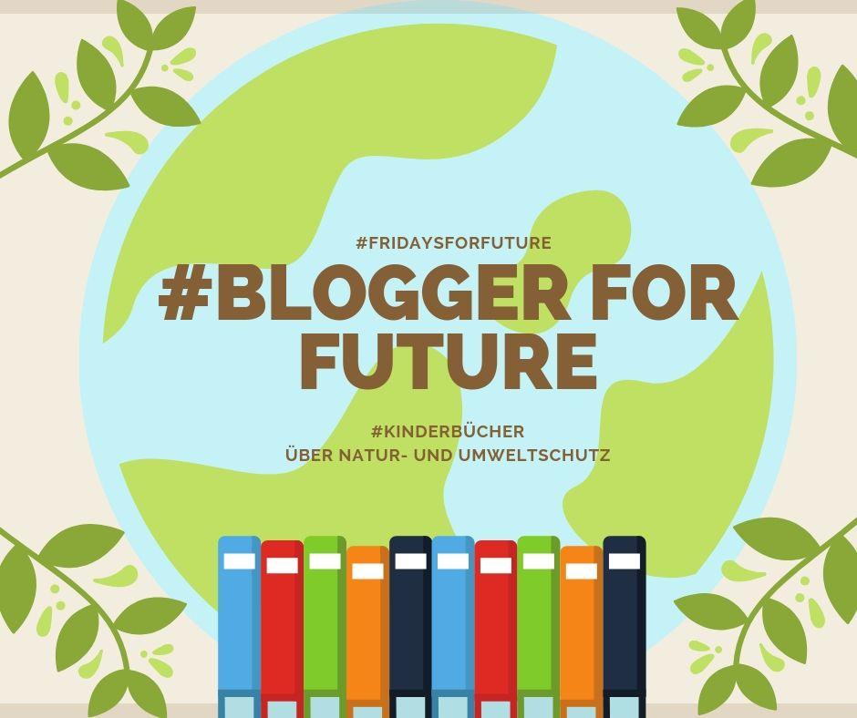 Blogger for Future-Logo: Kinderbücher über Natur- und Umweltschutz