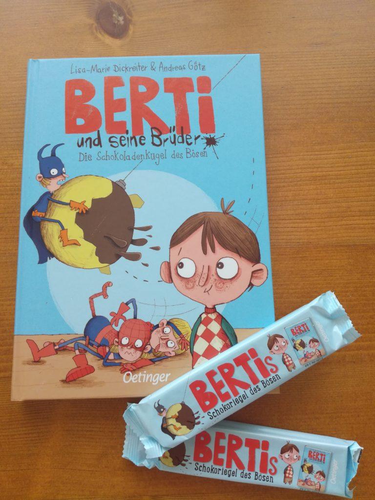 Berti und seine Brüder - Die Schokoladenkugel des Bösen (und ein Schokoriegel des Bösen)