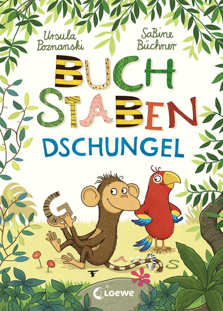 """Kinderbuch """"Buchstabendschungel"""", eine Geschichte rund um verlorengegangene Buchstaben"""
