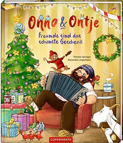 Bilderbuch Thema Weihnachten von Onno & Ontje: Freunde sind das schönste Geschenk