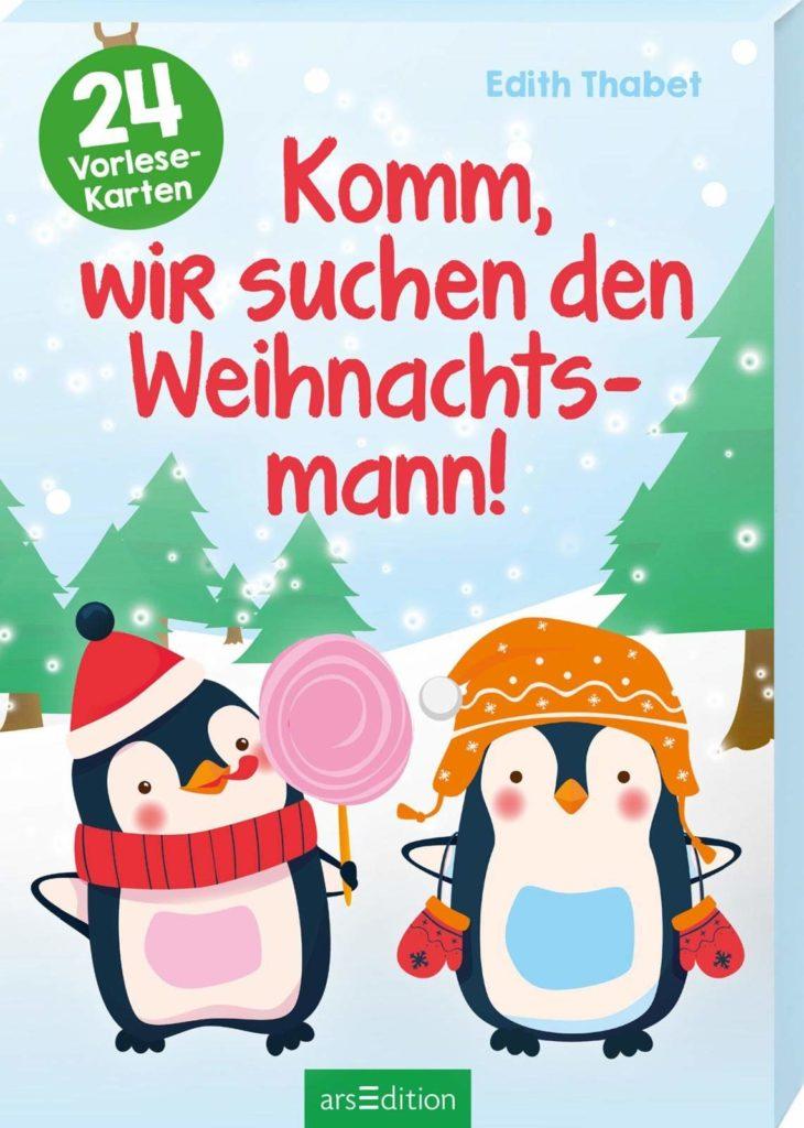 Adventskalender mit 24 Karten zum Vorlesen: Komm, wir suchen den Weihnachtsmann!