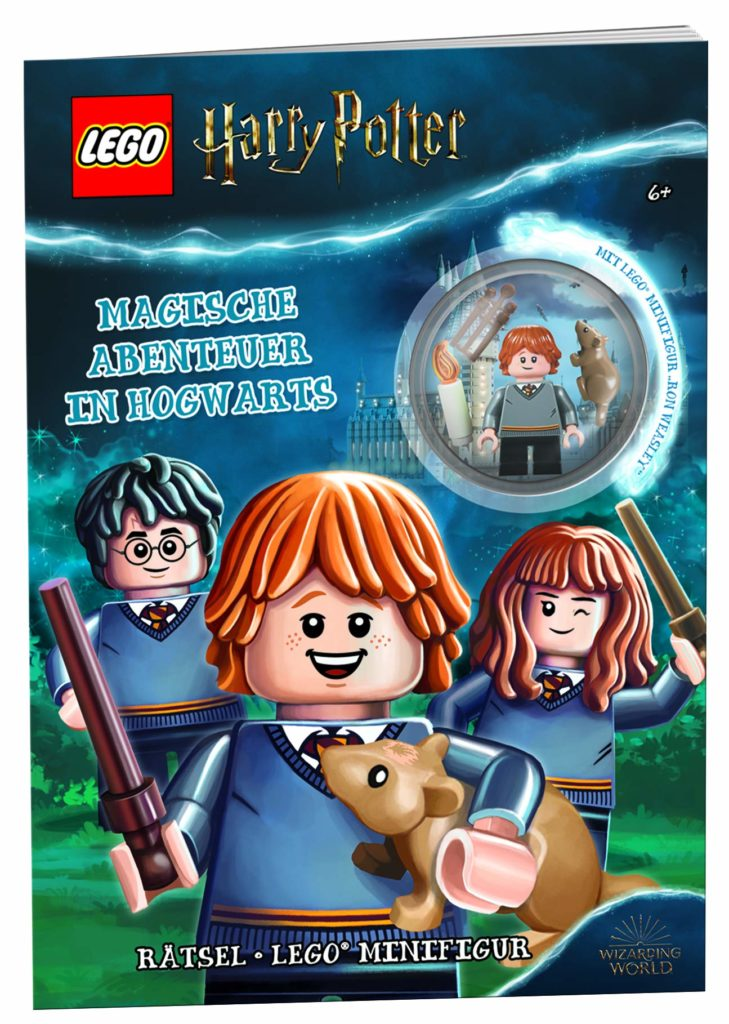 Rätsel-Heft: Magische Abenteuer in Hogwarts