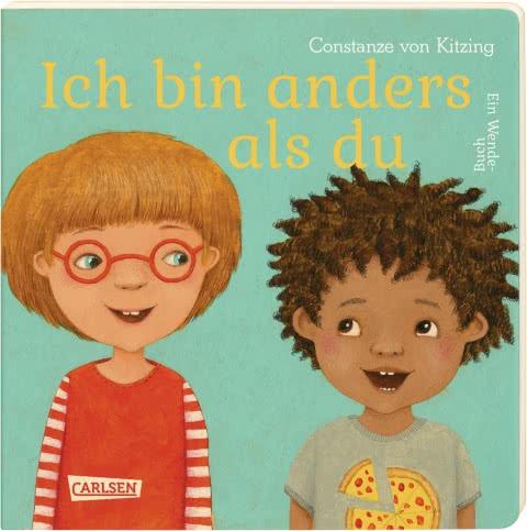 Wendebilderbuch von Constanze von Kitzing: Ich bin anders als du - Ich bin wie du