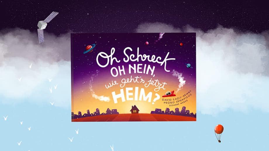 Personalisiertes Bilderbuch: Oh Schreck, oh nein, wie geht's jetzt heim?