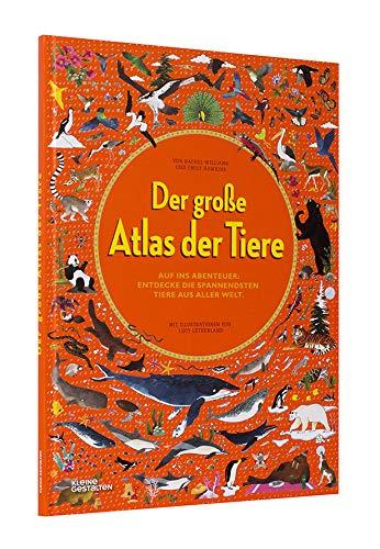 Sachbilderbuch: Der große Atlas der Tiere, Kleine Gestalten