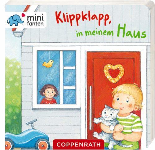 Pappbilderbuch für Kinder ab 18 Monaten: Klippklapp, in meinem Haus