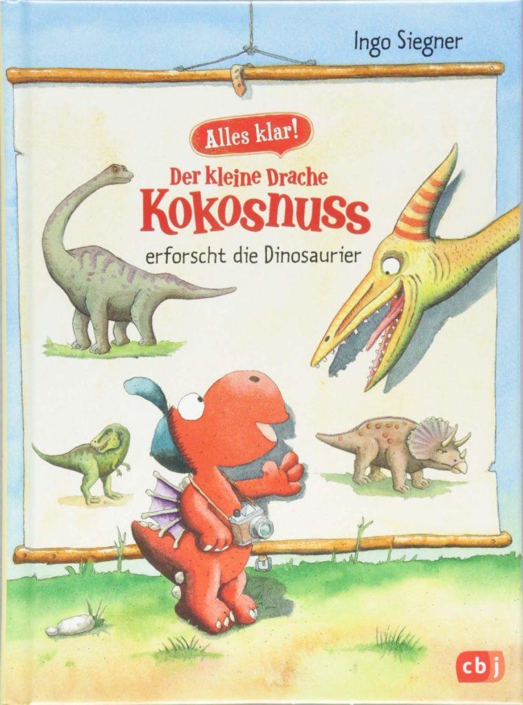 Sachbuch für Kinder: Der kleine Drache Kokosnuss erforscht die Dinosaurier