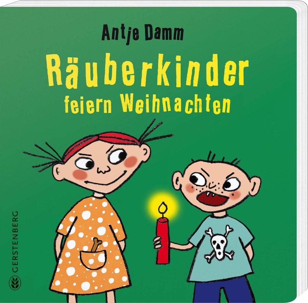Bilderbuch: Räuberkinder feiern Weihnachten
