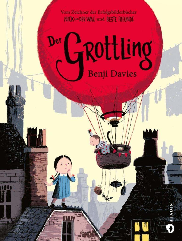 Bilderbuch für Kinder ab 4 Jahren: Der Grottling