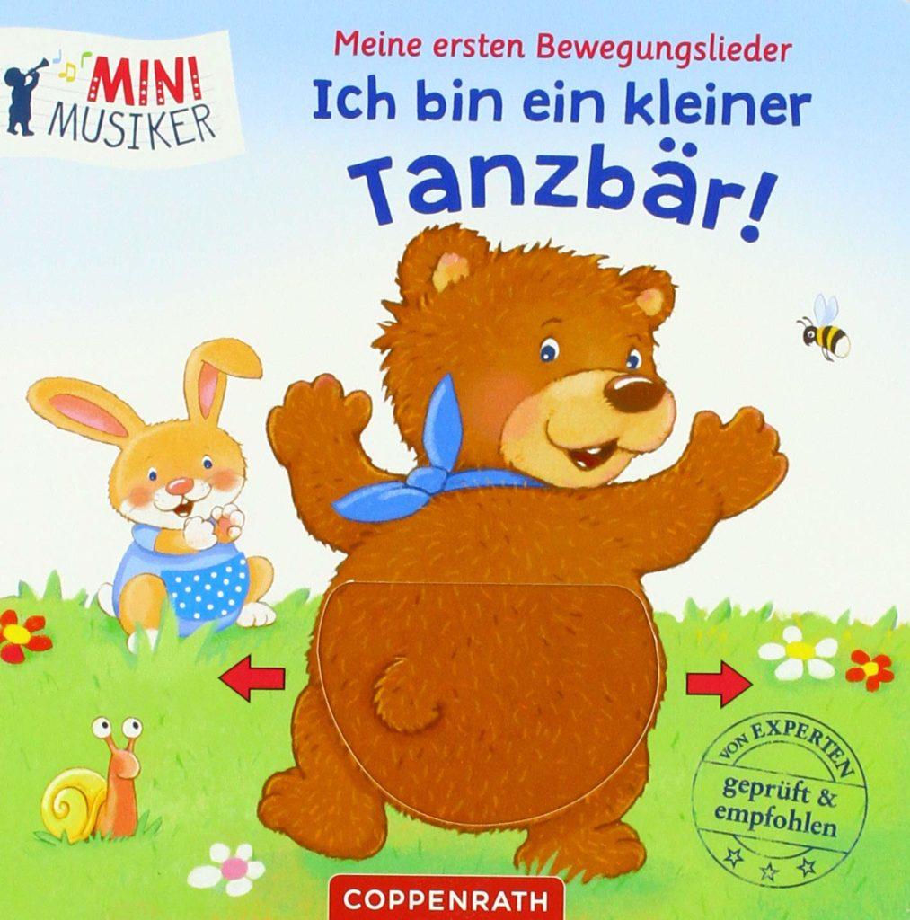 MiniMusiker: Meine ersten Bewegungslieder: Ich bin ein kleiner Tanzbär! mit Klappen und Schiebern