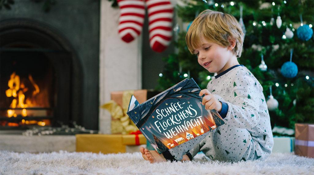 Personalisiertes Bilderbuch: Schneeflöckchens Weihnacht, Wonderbly