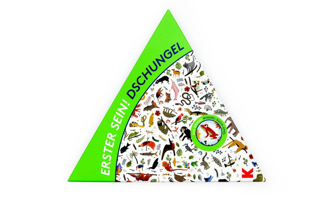 Wimmel-Such-Spiel: Erster sein! Dschungel