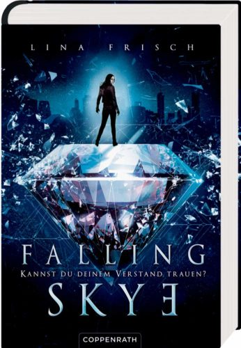 """Cover Jugendbuch """"Falling Skye"""""""