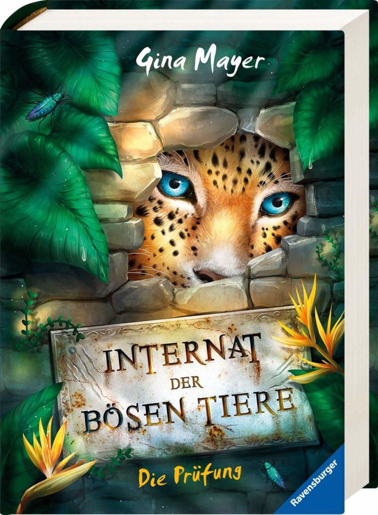 """Start der Kinderbuchreihe """"Internat der bösen Tiere"""", Band 1: Die Prüfung"""