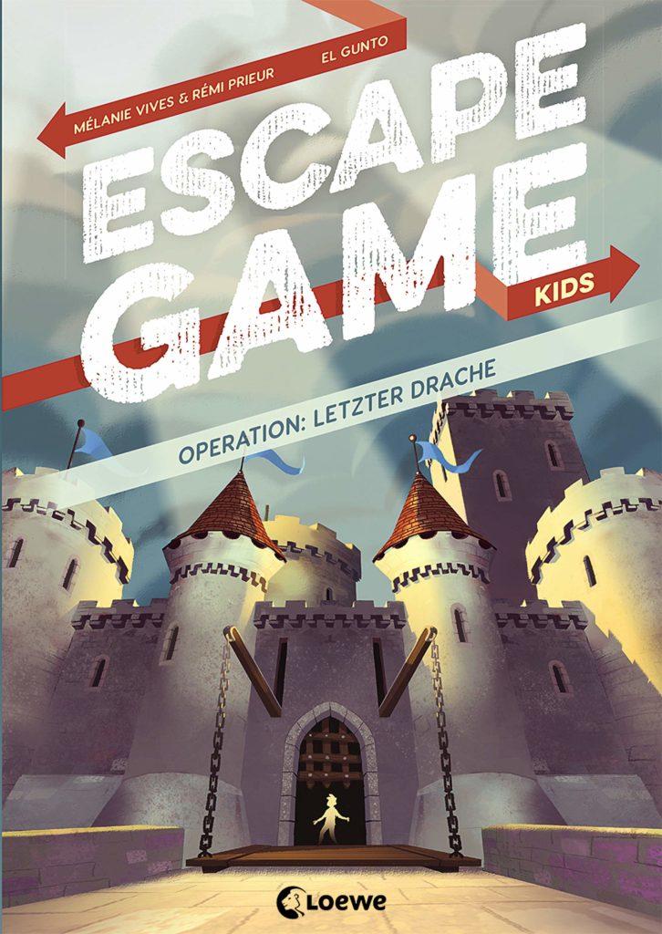 Rätselbuch: Escape Game Kids - Operation: Letzter DRache