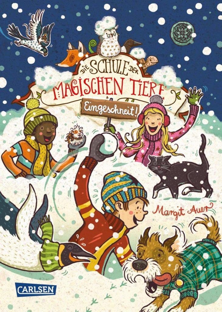 Kinderbuchreihe Schule der magischen Tiere, Band 11: Eingeschneit!