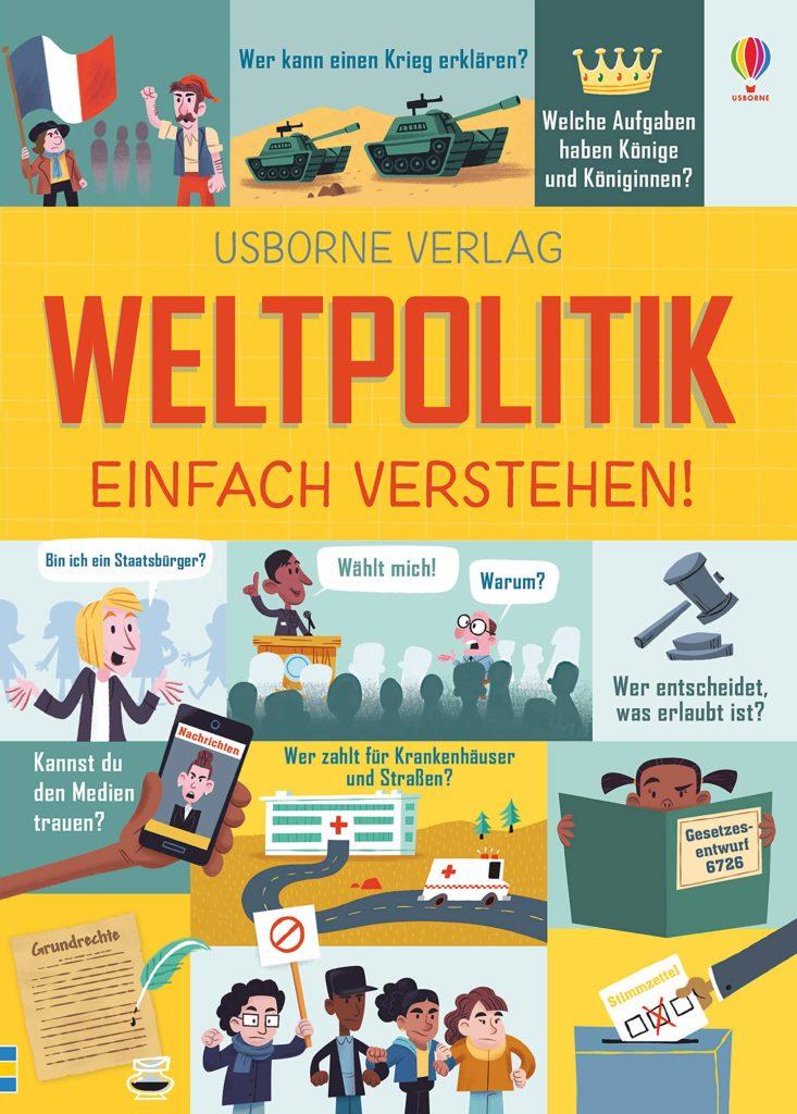 """Politik für Kinder: Sachbuch """"Weltpolitik einfach verstehen!"""""""
