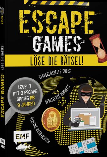 Escape Games - Löse die Rätsel für Kinder ab 9 Jahren