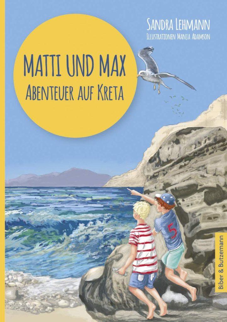 """Kinderbuch """"Matti und Max - Abenteuer auf Kreta"""""""