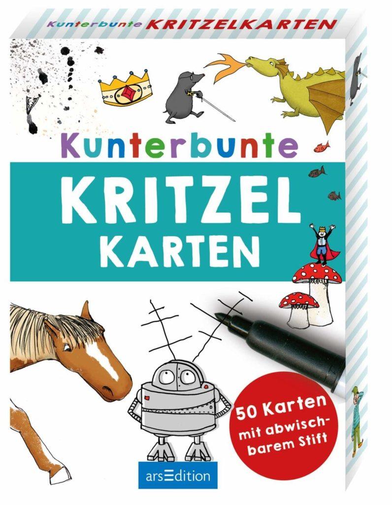 Kunterbunte Kritzelkarten