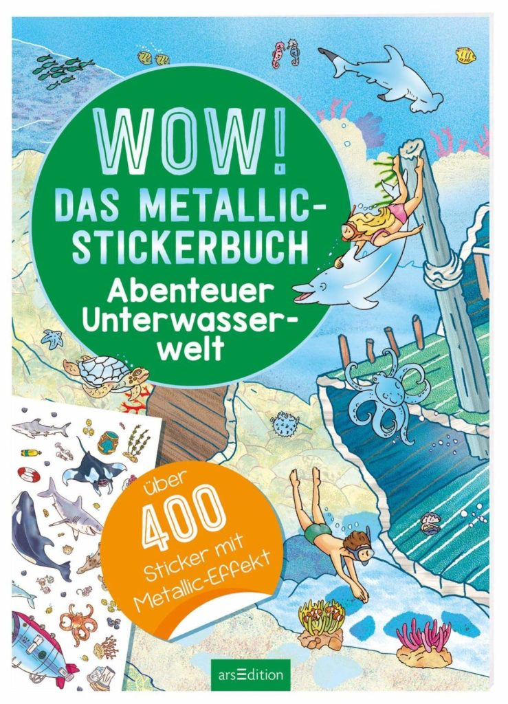 Wow! - Das Metallic-Stickerbuch