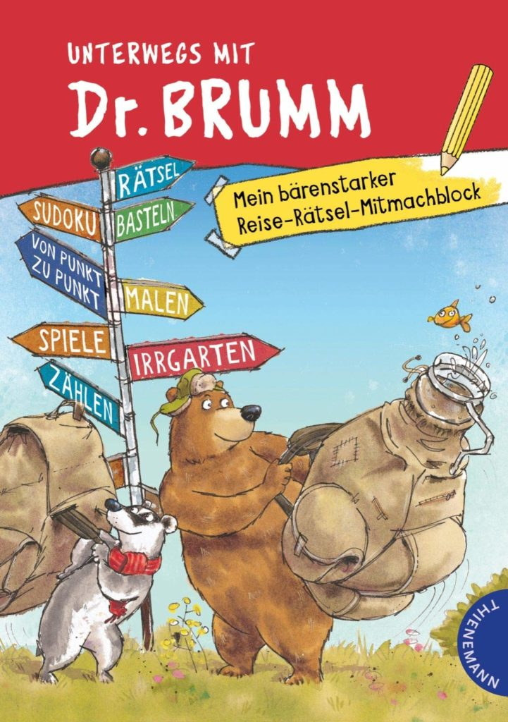 Rätselblock: Unterwegs mit Dr. Brumm