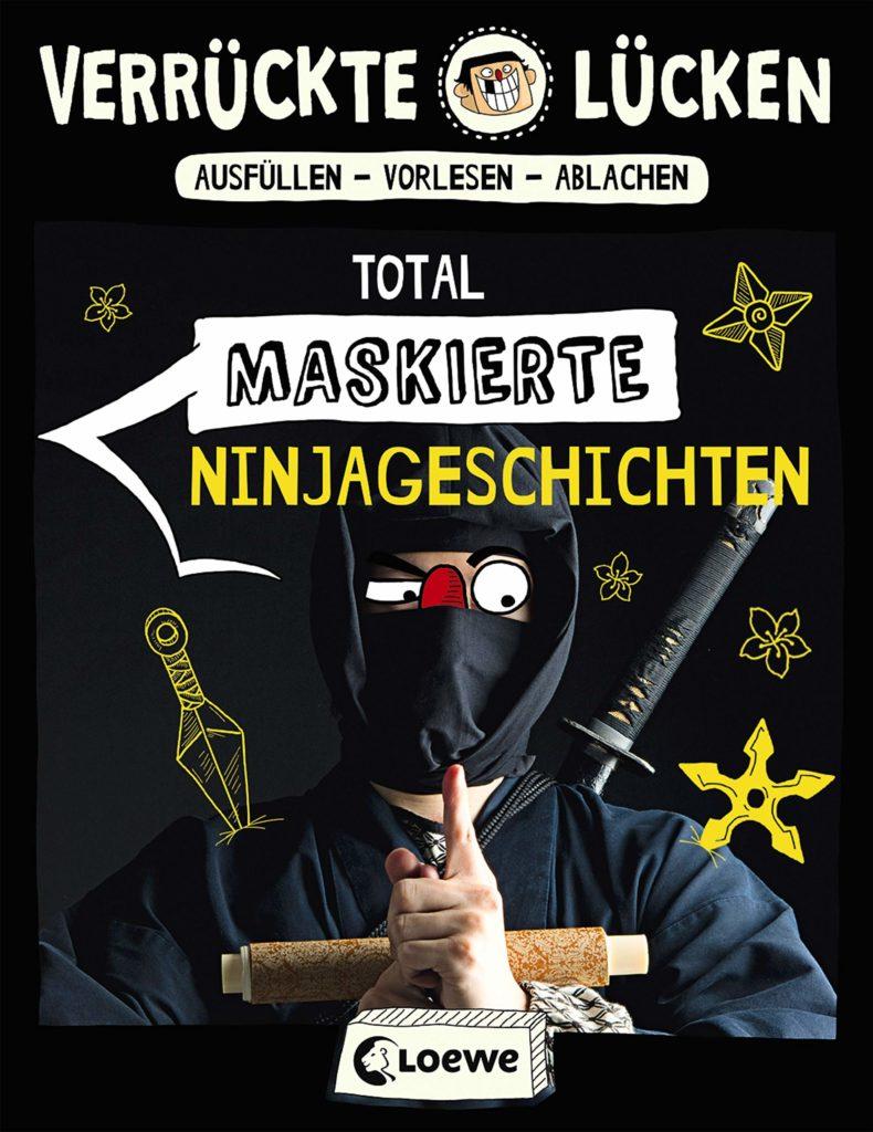 Verrückte Lücken: Total maskierte Ninjageschichten