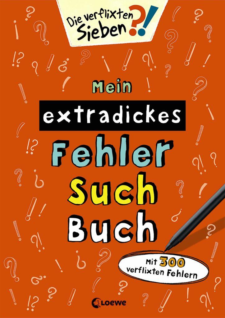 Mein extradickes Fehler-Such-Buch