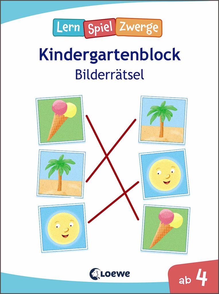 Kindergartenblock - Bilderrätsel