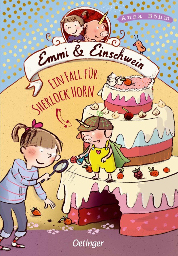 Kinderbuch: Emmi & Einschwein (Band 5) - Ein Fall für Sherlock Horn