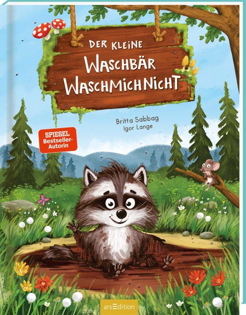 Bilderbuch: Der kleine Waschbär Waschmichnicht