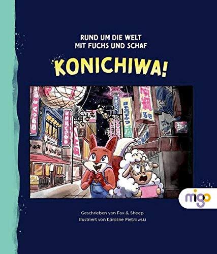 Bilderbuch: Rund um die Welt mit Fuchs und Schaf - Konichiwa!