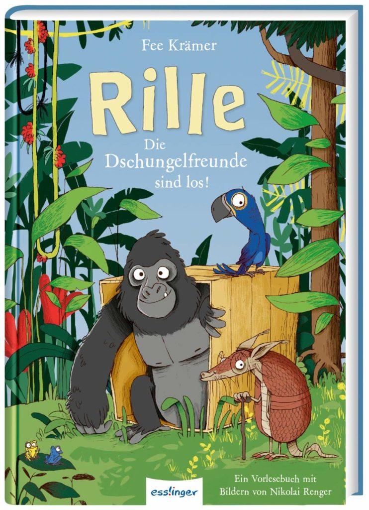 Vorlesebuch: Rille - Die Dschungelfreunde sind los!