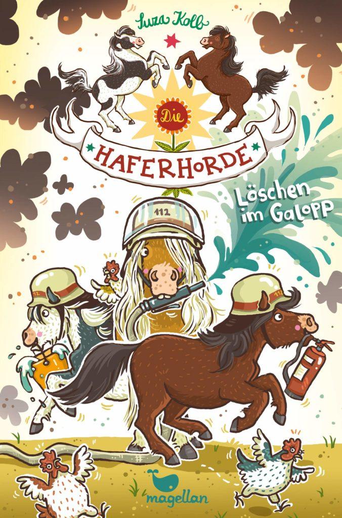 Die Haferhorde - Löschen im Galopp (Band 14)