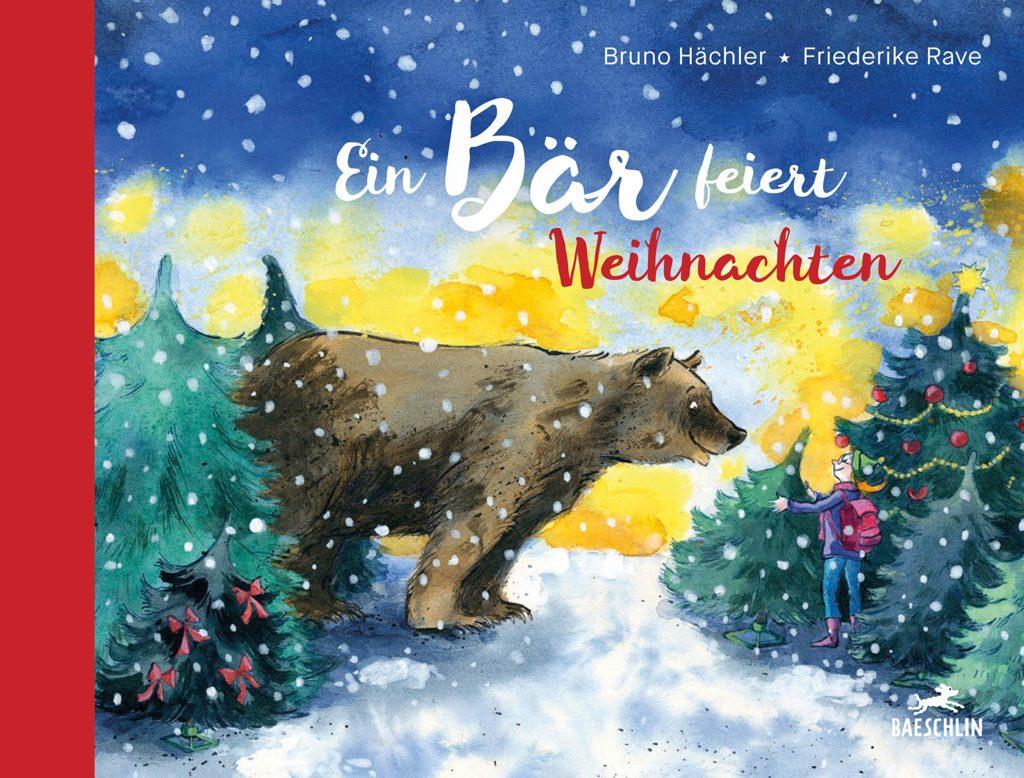 Bilderbuch: Ein Bär feiert Weihnachten