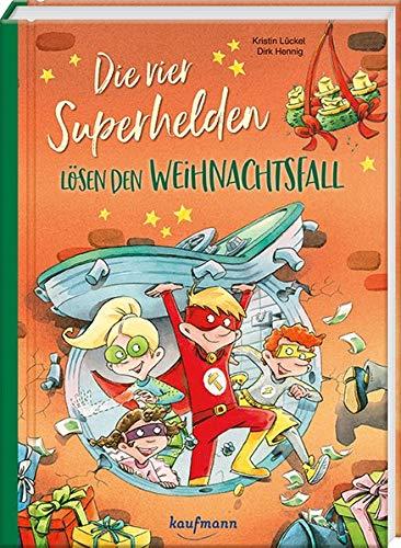 """Kinderbuch """"Die vier Helden lösen den Weihnachtsfall"""""""