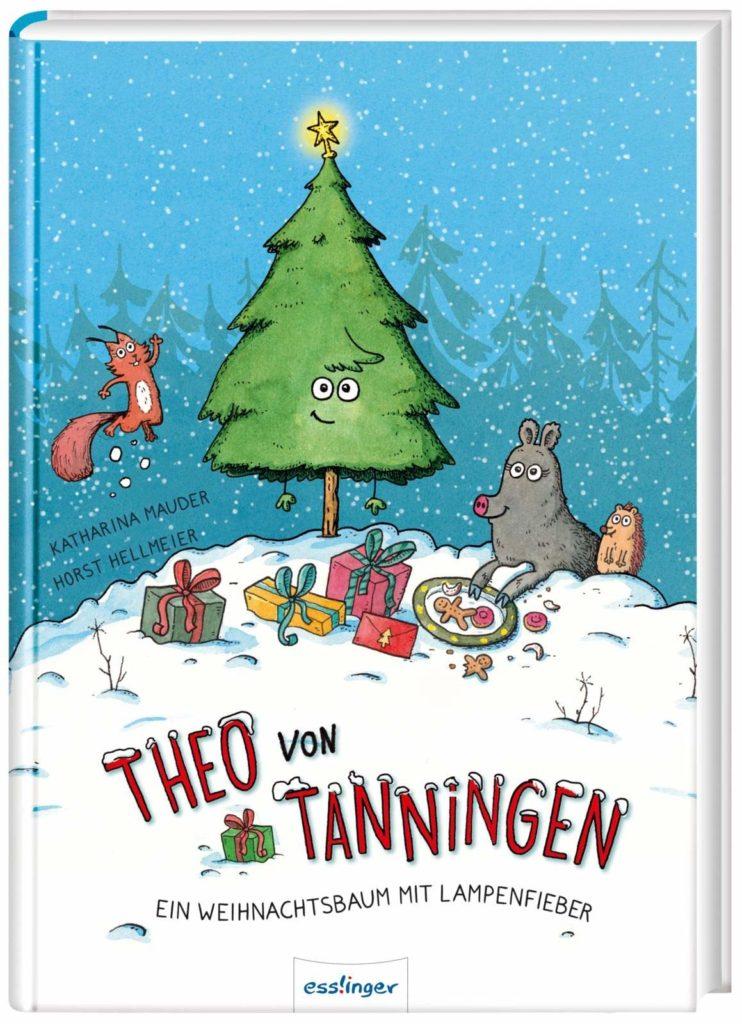 Vorlesebuch: Theo von Tanningen - Ein Weihnachtsbaum mit Lampenfieber