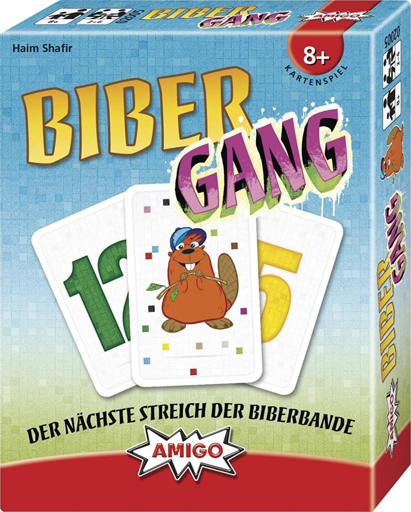 "Kartenspiel: ""Biber-Gang"""