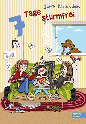 """Kinderbuch """"7 Tage sturmfrei"""" von Juma Kliebenstein"""