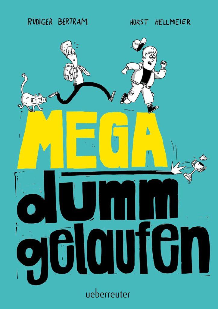 "Kinderbuch ""Mega dumm gelaufen"", Comic-Geschichte"