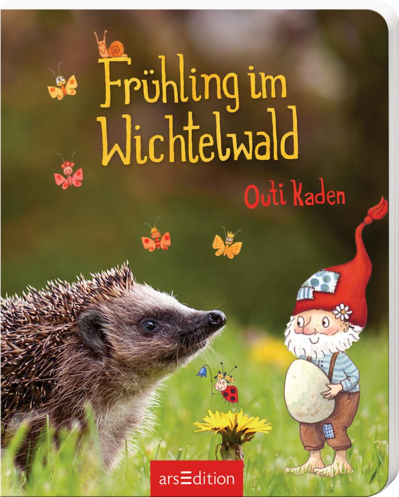 Pappbilderbuch: Frühling im Wichtelwald, Bilderbuch für Kinder ab 2 Jahren mit einem Wichtel
